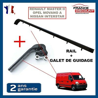 Guide + Galet guidage porte Laterale Droite Master Movano Interstar 8200163740