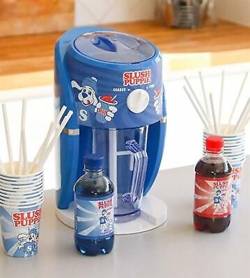 Slush Puppie Slushie New Machine Set, Syrups, Cups and Straws included!