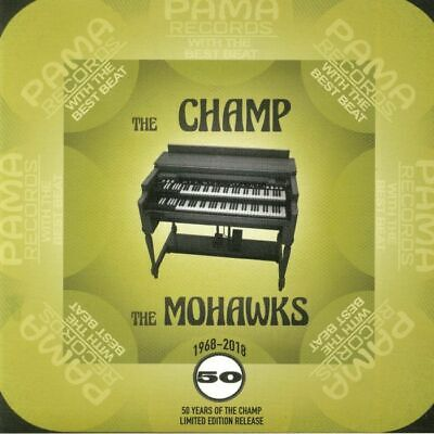 "MOHAWKS, The - The Champ (Record Store Day 2018) - Vinyl (limited gold vinyl 7"")"