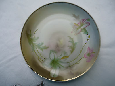 Antique Collectable Handpainted PV Kloster Vessra Germany Decorator Plate