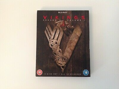Vikings Season 4 Volume 1 Blu Ray DVD Boxset