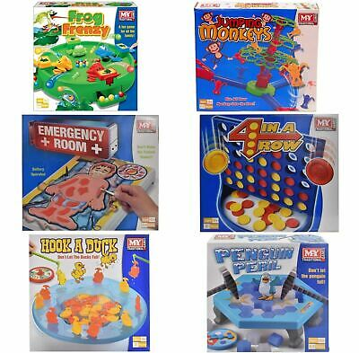 Traditional Classic Family Board Games Full Size Kids Indoor Fun Toy Game 6+ 3+