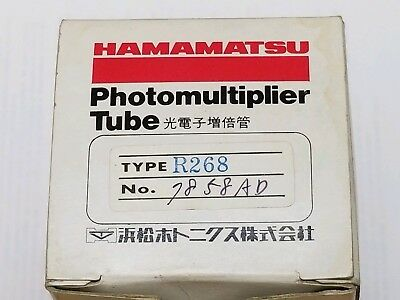 BRAND NEW HAMAMATSU R268 Photomultiplier tube Head-on type Electronic Tube JAPAN