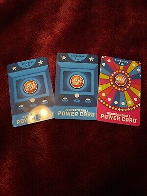 $30 Dave and Busters Power Card