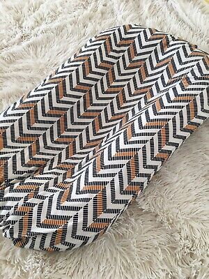 Snuggle Me Organic Cover Baby Lounger Sleeper Pillow Slip Case Chevron