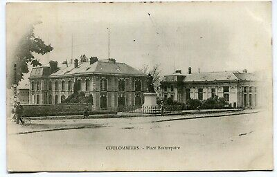 CPA - Carte Postale - France - Coulommiers - Place Beaurepaire - 1903 (I10083)
