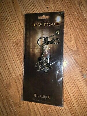 """The Twilight Saga New Moon """"Bag Clip B"""" NEW IN PACKAGE RARE!"""