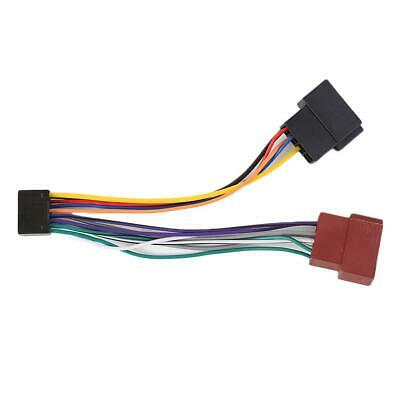 CDXGT270MP Car Stereo 16 pin Wire Connector Wiring Harness for Sony CDX-GT270MP