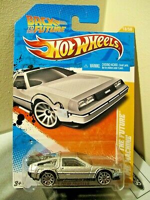 Hot Wheels 1:64 scale 2011 New Models Back To The Future Time Machine