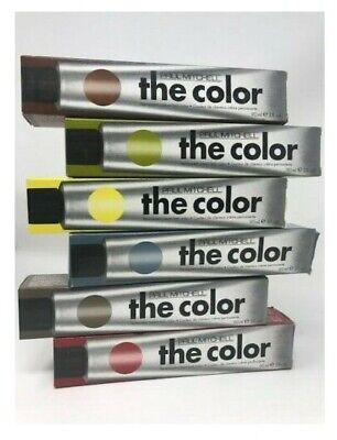 Paul Mitchell The Color Permanent Cream Hair Color -- You CHOOSE the Color   NIB