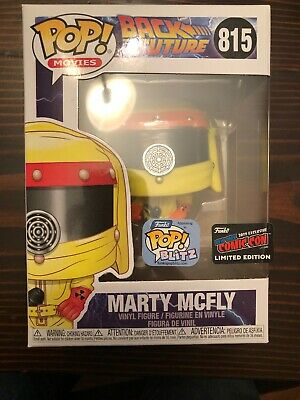 Funko POP Movies 815: BACK TO THE FUTURE: MARTY MCFLY OFFICIAL NYCC 2019