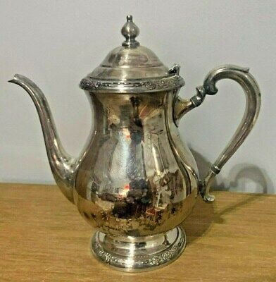 """Vintage International Silver Silverplated Teapot Camille Pattern 6002  9.25"""""""