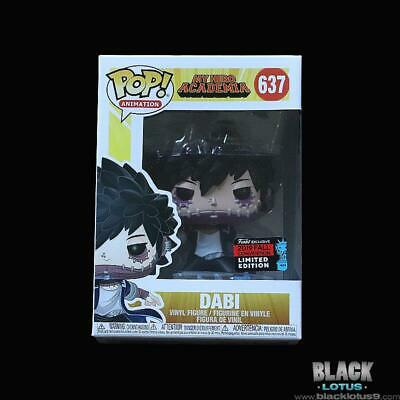 NYCC 2019 Funko Pop! Dabi My Hero Academia Wave 3 Anime IN STOCK Pop 637