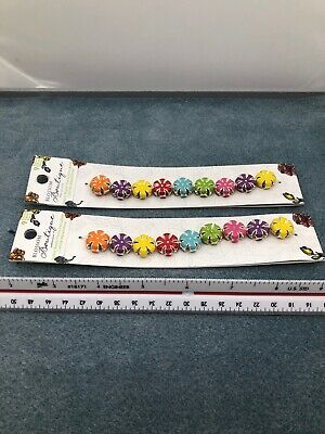 2 Packages of Blossom Boutique Spacer Beads. De-Stash, Pre-Owned. A262