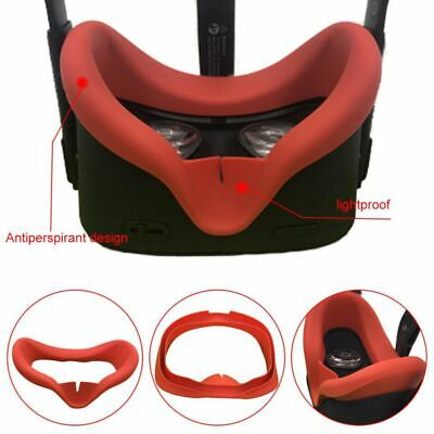 Sweatproof Eye Mask Silicone Protective Cover For Oculus Quest VR Gaming Headest
