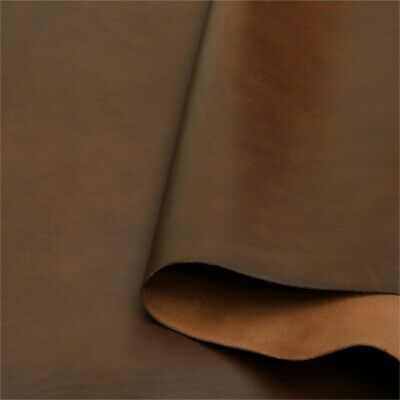 Walpier Buttero Pure Vegetable Tanned Leather 2.0-2.2 mm Thick Chocolate Firm