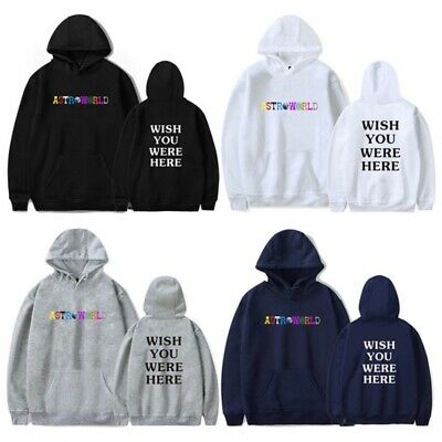 Unisex Letter Print Couple Hooded Shirt Astroworld Hooded Sweater Causal Outfits