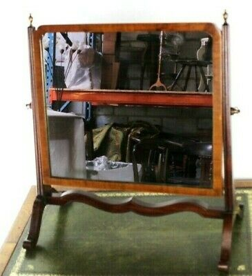 Antique Victorian Mahogany Dressing Table Mirror - FREE Shipping [5552]
