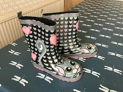 Size Infant UK 10//Euro 28 Brand New Be Only Sweety Kids Wellies Pink