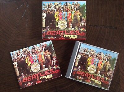 Beatles - Sgt. Pepper's Lonely Hearts Club Band - CD w/slip cover