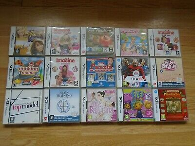 Bundle Of 15 Nintendo Ds Games-All Boxed
