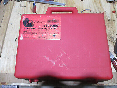 Spilfyter Mercsorb mercury spill kit #520250 Grainger number 3CNZ6