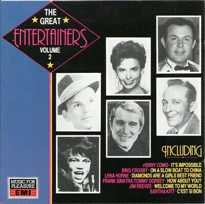 Various - The Great Entertainers Volume 2 (1989) G/VG+