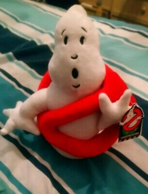 """NEW OFFICIAL 12/"""" AND 5/"""" GHOSTBUSTERS PLUSH SOFT TOY AND BAG CLIPS"""