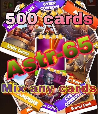 Coin Master Cards Take Any 500 Cards Fast Delivery