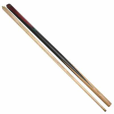 57/'/' 3//4 Piece Ash Pool Snooker Cue Walnut with Butt extention 100mm Leather Tip