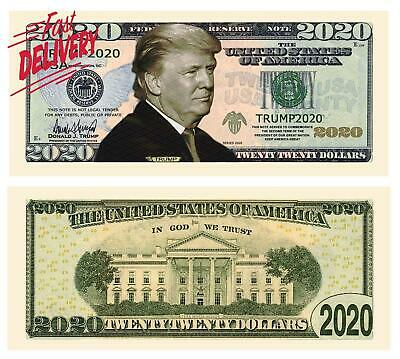 American Art Classics Pack Of 10 - Donald Trump 2020 Re-Election Presidential Do