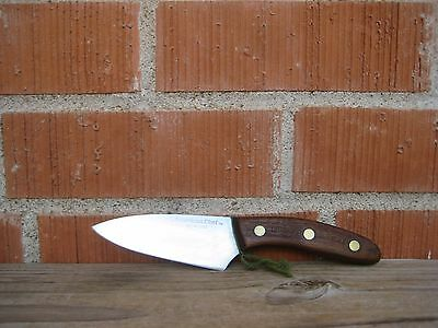 """Vintage 4"""" Blade * CHICAGO CUTLERY AC 40 * Smallest Chef Knife Curved Handle USA"""