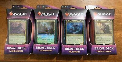 Magic the Gathering: Throne of Eldraine. Brawl Decks - Set of four decks (2019).