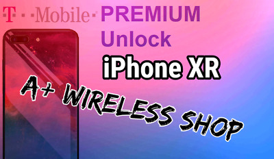 T-Mobile USA - Unlock Service for iPhone Xr Clean / Financed & Inactive IMEI