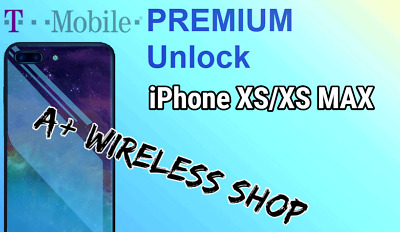 T-Mobile USA -Unlock ServiceiPhone Xs / Xs Max Clean / Financed & Inactive IMEI