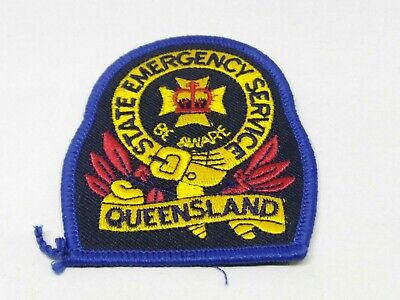 Collectable Blue State Emergency Service Queensland Patch / Badge