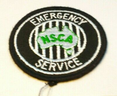 Collectable Nsca Emergency Service Patch / Badge