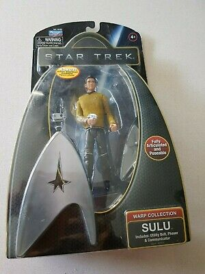 "2009 Star Trek Warp Collection Sulu 6"" Figure By Playmates Toys"