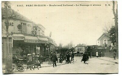 CPA - Carte Postale - France - Parc Saint Maur - Boulevard National - Le passage