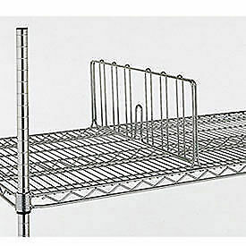 """8""""H Shelf Dividers For Open-Wire Shelving, 24"""""""