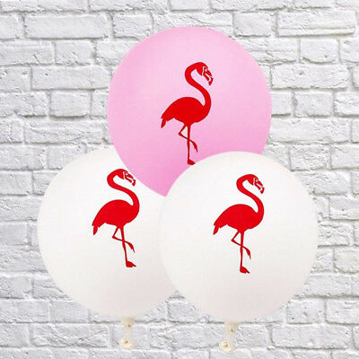 10 PCs/set Flamingo Latex Balloons Birthday Wedding Party Home Lovely Decor