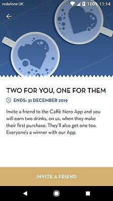 Caffe Nero Coffee Voucher
