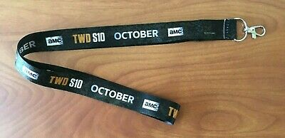 SDCC 2019 Exclusive Official Lanyard TWD The Walking Dead Season 10 NEW