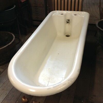 Large Antique Cast Iron Bath