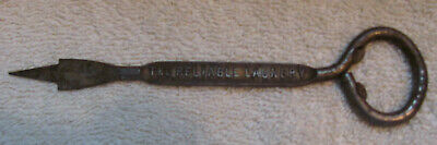 Vintage Advertising Ice Pick / Bottle Cap Opener