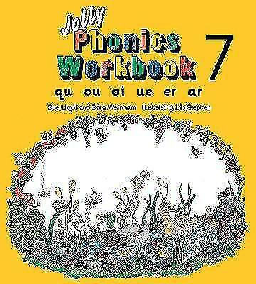 Wernham, Sara, Lloyd, Sue, Jolly Phonics Workbook 7: qu, ou, oi, ue, er, ar, Pap