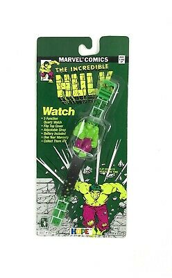 Vintage Marvel Comics Hulk Watch 1990 HOPE Collectible- Sealed