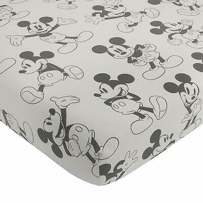 Disney Mickey Mouse Fitted Mini Crib Sheet