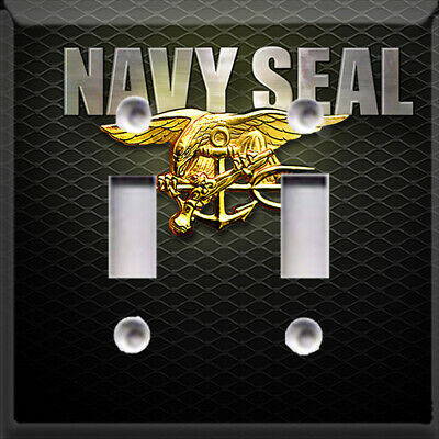 U.S Navy Seal Symbol Light Switch Plate Cover ~ Choose Your Cover ~