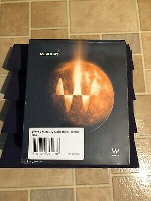 Waves Mercury Bundle New Sealed in Box, Never Opened Never Registered ULTRA RARE